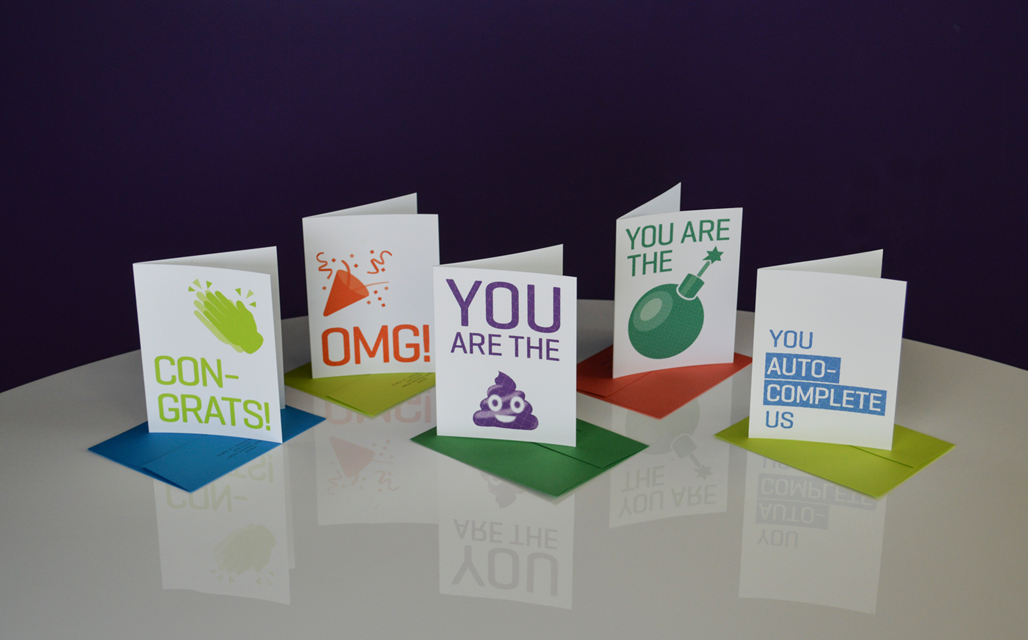 Envoc Thank You Cards