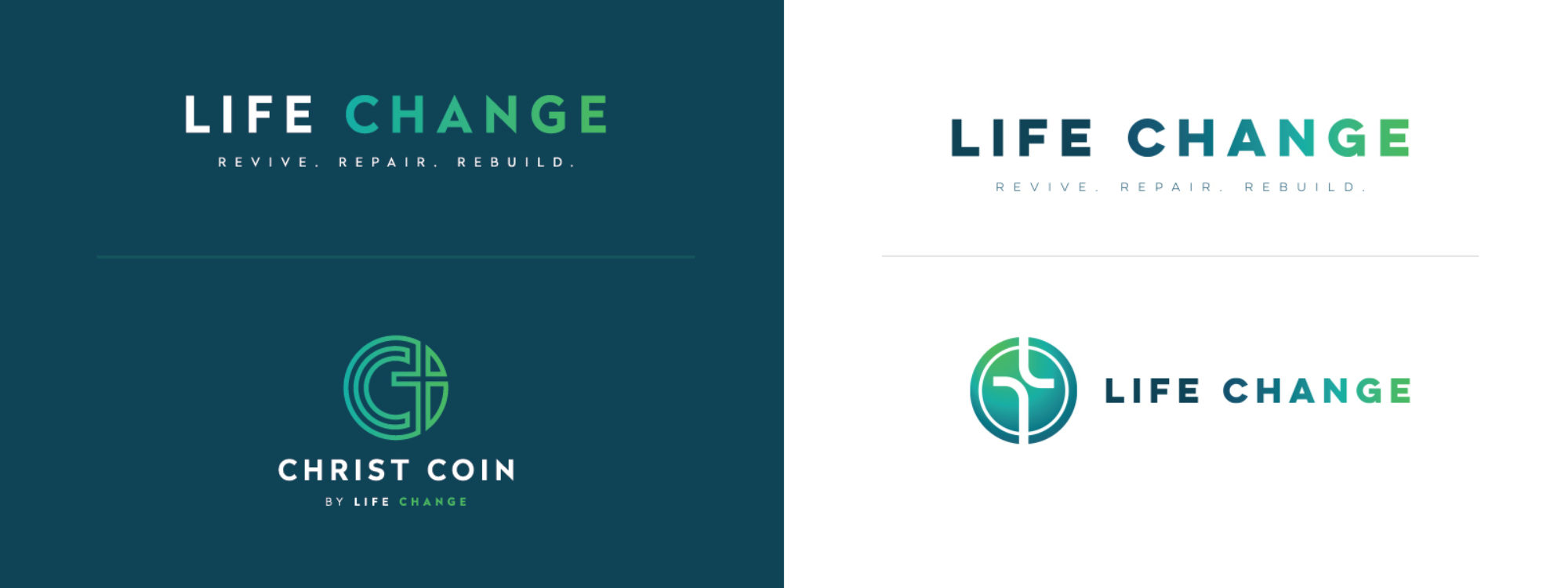 Life Change Logo Design